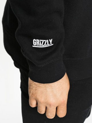 Bluza Grizzly Griptape Only You Crew (black)