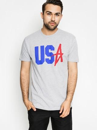 T-shirt Altamont Us Decade (grey heather)