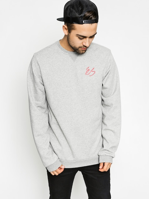 Bluza Es Script Crew (grey heather)
