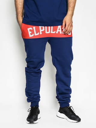 Spodnie El Polako Belt Fit (navy)