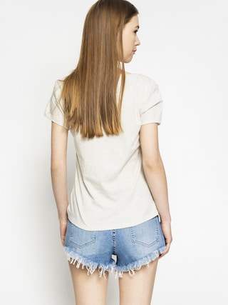T-shirt Element Palm Springs Postcar Wmn (ivory heather)