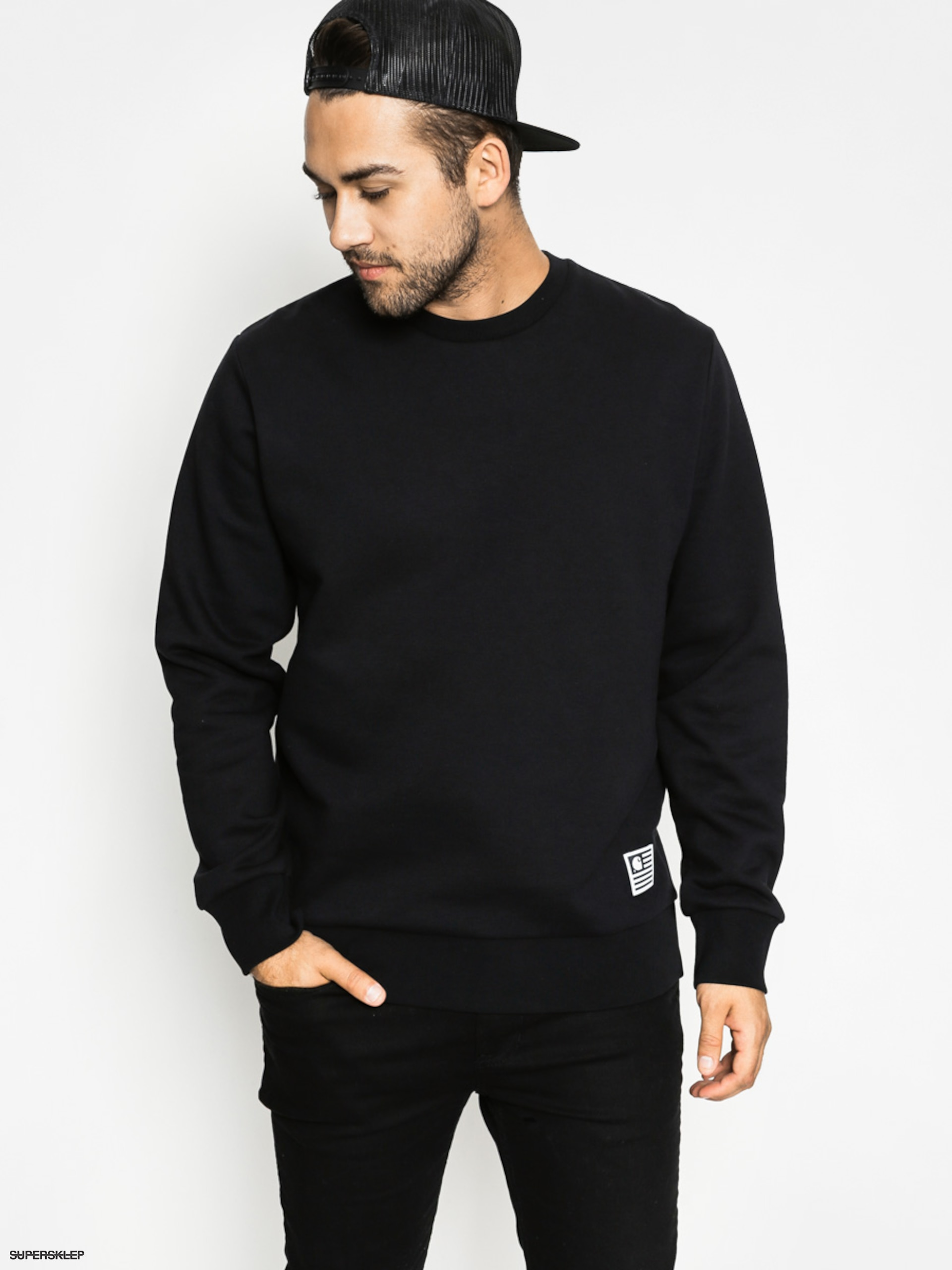 Bluza FILA Teom Crew Sweat Black
