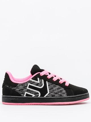Buty dziecięce Etnies Fader LS (black/pink)