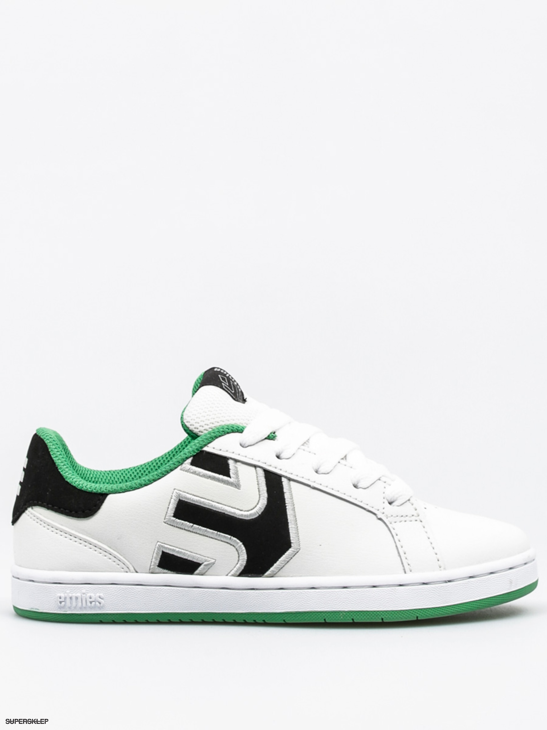 Buty Etnies Kids Fader Ls (white/black/green)