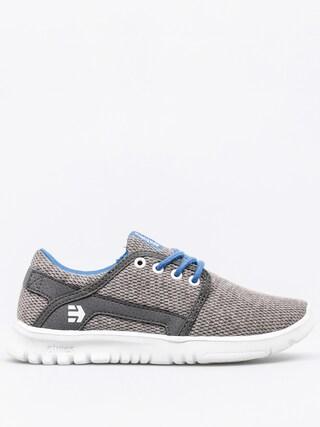 Buty dziecięce Etnies Kids Scout (grey/grey/blue)