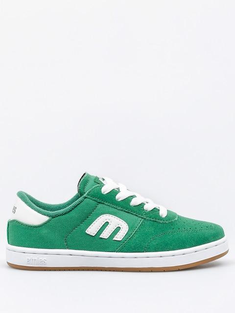 Buty dziecięce Etnies Kids Lo Cut (green/white/gum)