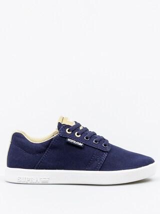 Buty dziecięce Supra Westway (navy/hemp white)