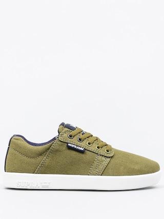 Buty dziecięce Supra Westway (olive branch/navy white)