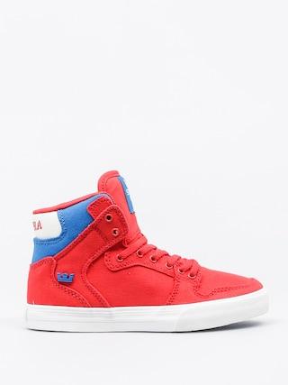 Buty dziecięce Supra Vaider (red/royal/white)