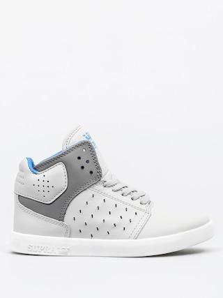 Buty dziecięce Supra Atom (light grey/charcoal white)