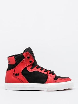Buty dziecięce Supra Vaider (red/black/white)