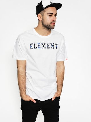 T-shirt Element Mineral Font (optic white)