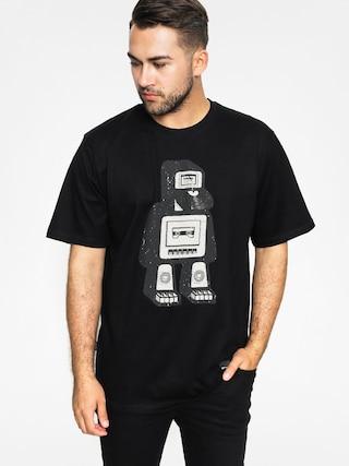 T-shirt Tabasko Deck (black/beige)