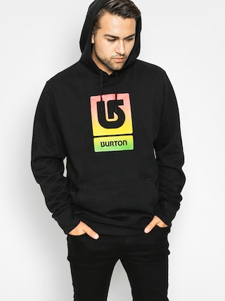 Bluza z kapturem Burton Logo Vftl HD (true black)