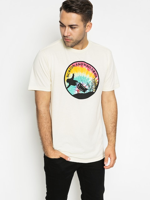 T-shirt Burton Throwbck Rpet (canvas heather)