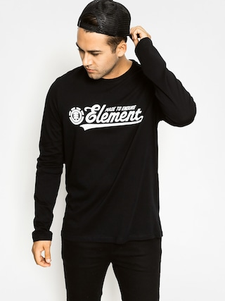 Longsleeve Element Signature (flint black)