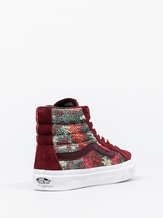 Buty Vans Sk8 Hi Slim (italina weave/port royal)