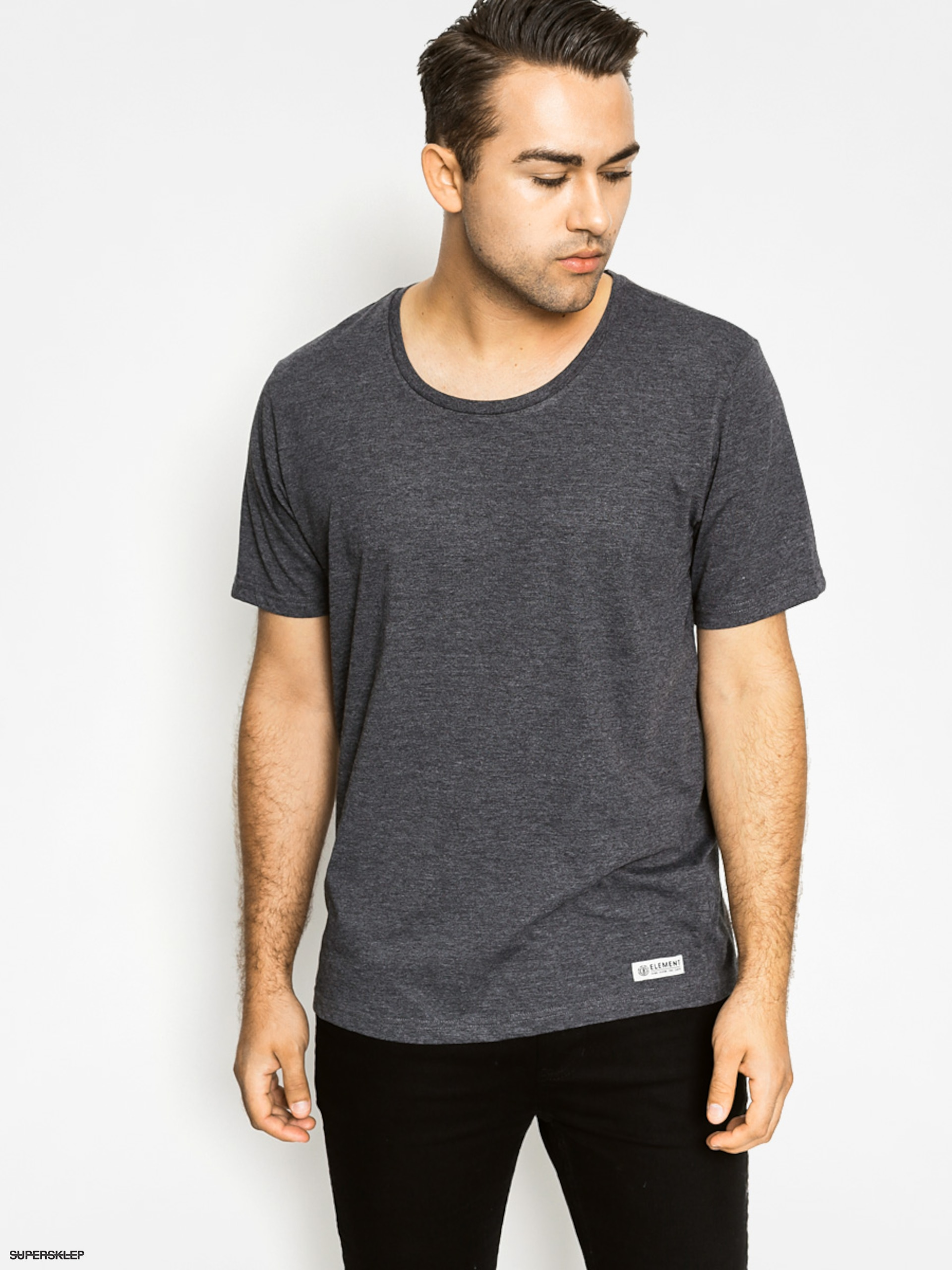 T-shirt Element Basic Open Neck