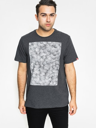 T-shirt Element Kai And Sunny Square (charcoal heather)