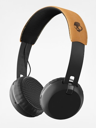 Słuchawki Skullcandy Grind Wireless (black/black/tan)