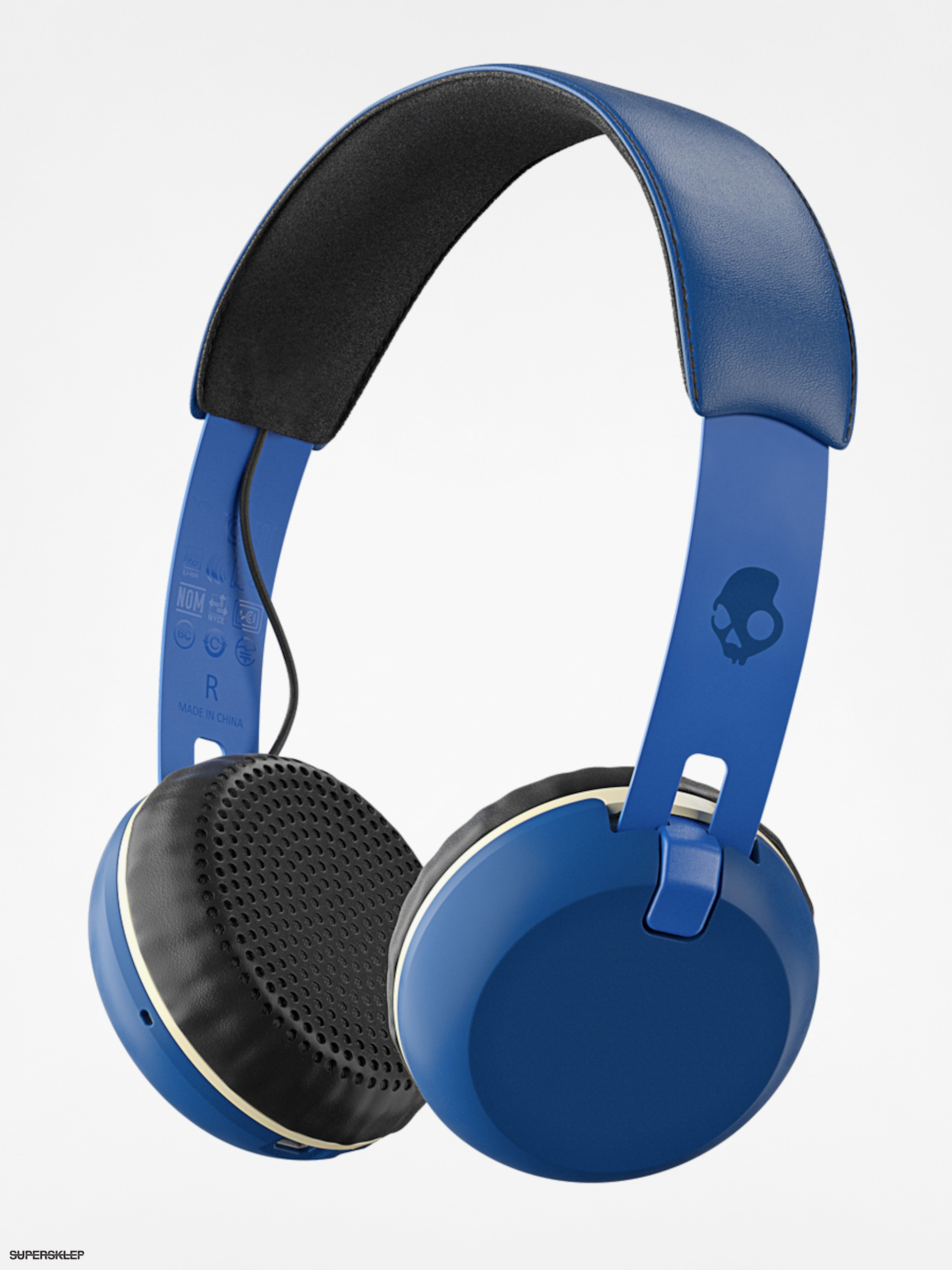Słuchawki Skullcandy Grind Wireless (royal/cream/blue)