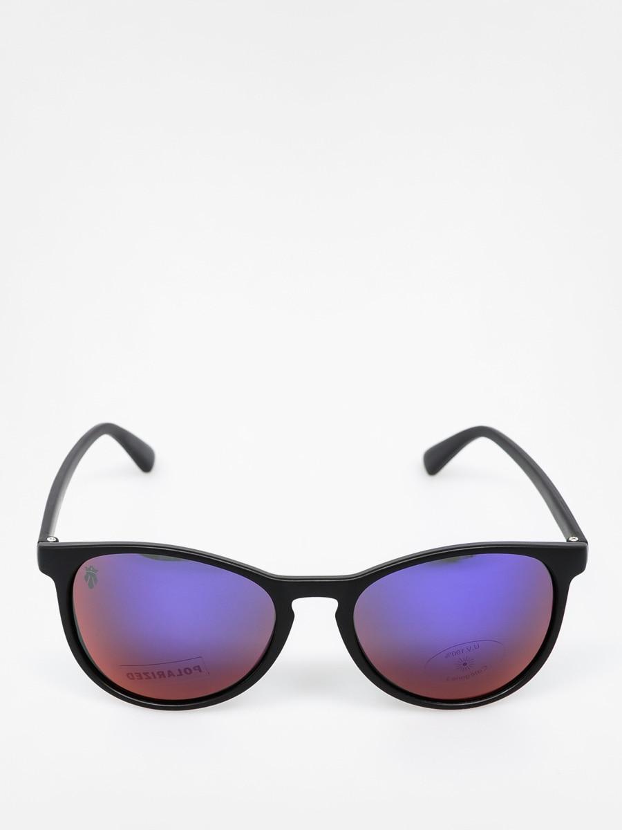 Okulary przeciwsłoneczne Majesty Rush (black mattpurple mirror)