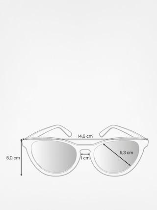 Okulary przeciwsłoneczne Majesty Rush (black matt/brown)