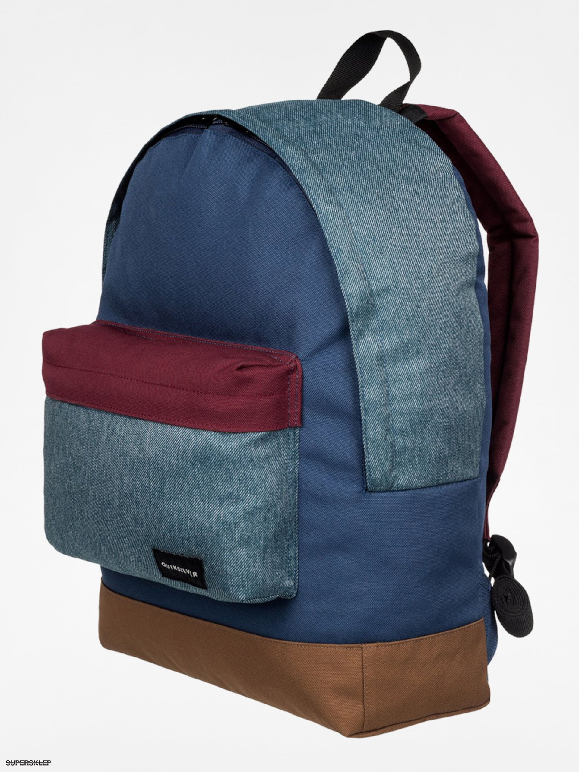 Plecak Quiksilver Everyday (navy/brown/brick)