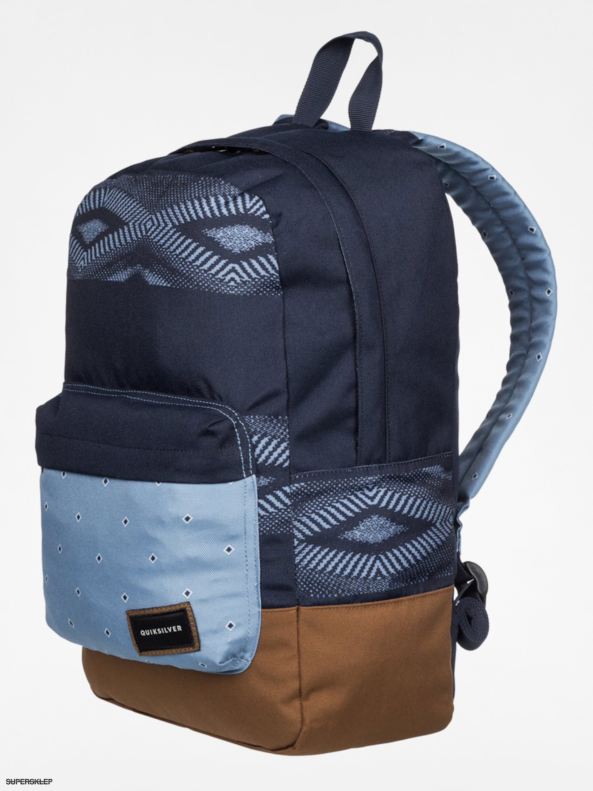 Plecak Quiksilver Night Track (navy/blue/brown)