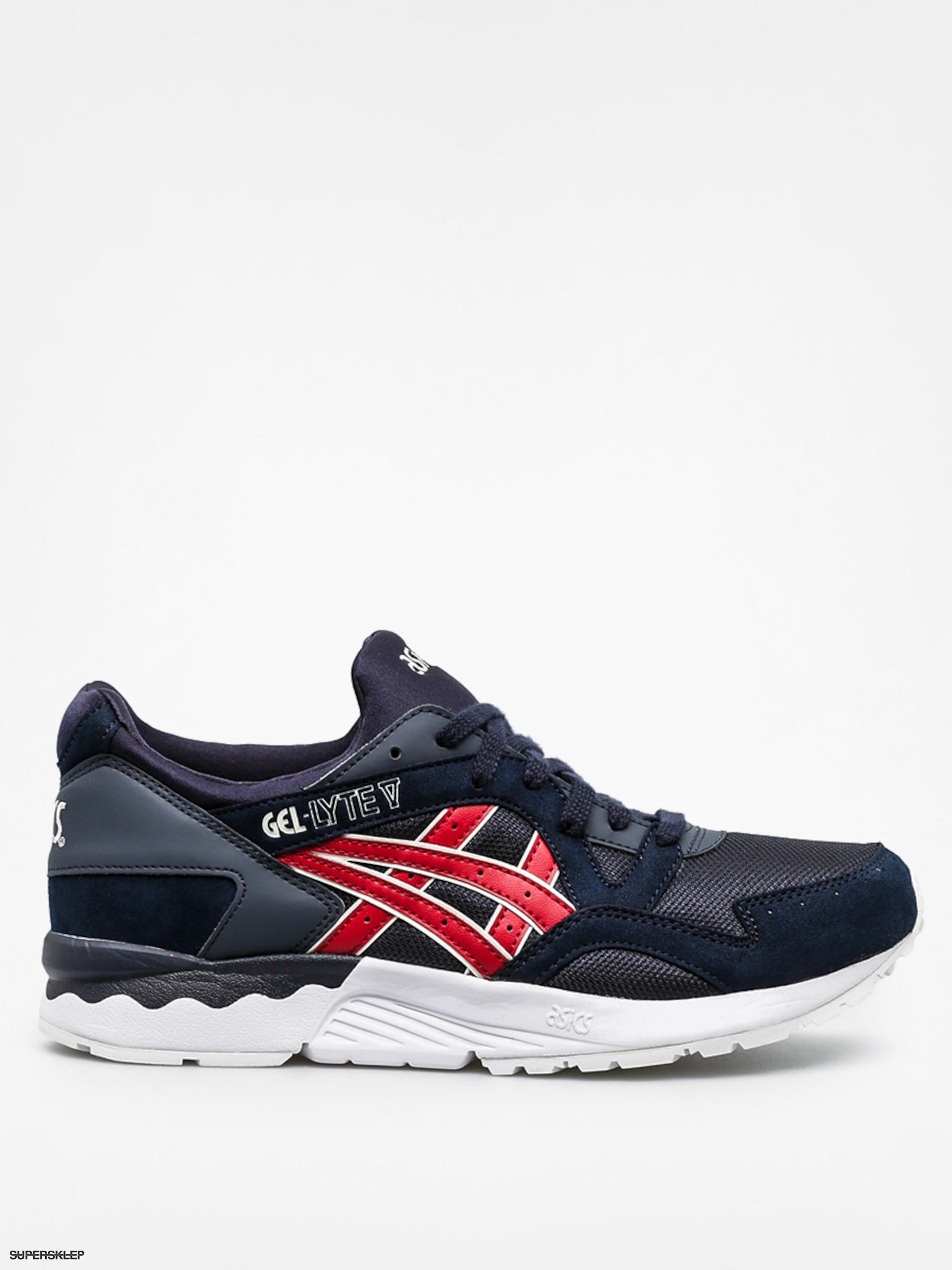 Buty Asics Gel Lyte V (india ink/burgundy)