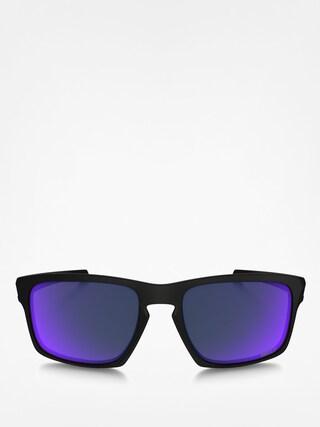 Okulary przeciwsłoneczne Oakley Sliver (matte black/red iridium)