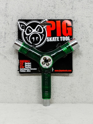 Klucz Pig Skate Tool (transparent green)