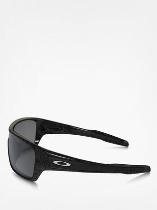 Okulary przeciwsłoneczne Oakley Turbine Rotor (black/silver ghost text/black iridium)