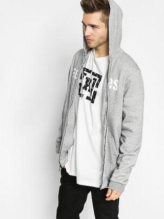 Bluza z kapturem Etnies Corporate ZHD (grey/heather)