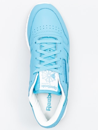 Buty Reebok Classic Leather Seasonal II Wmn (crisp blue/white)