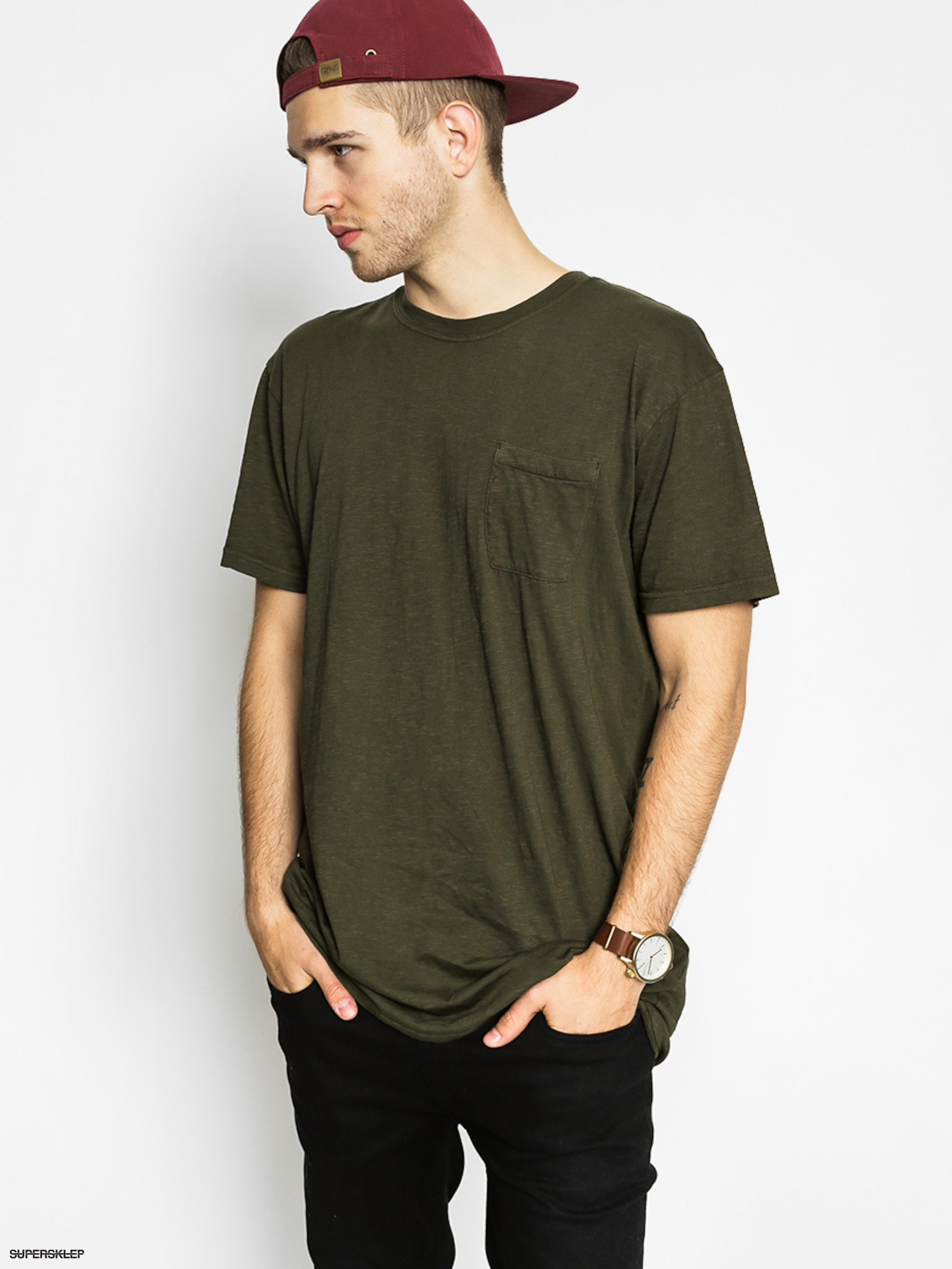 T-shirt DC Ohlen Pocket
