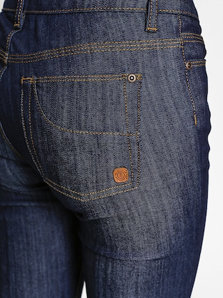 Spodnie Element Sticker Wmn (raw denim jeans)