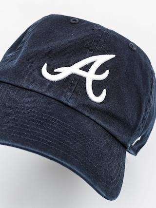 Czapka z daszkiem 47 Brand Atlanta Braves ZD (washed black)