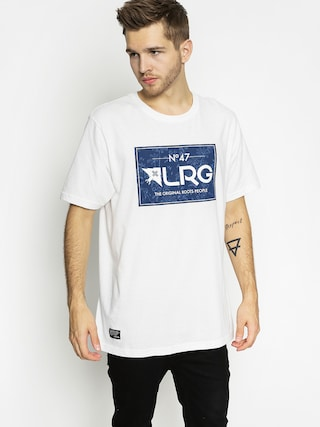 T-shirt LRG Rc Roots People Batik (white/navy)