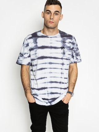 T-shirt Quiksilver Wasting Time (washed blue)