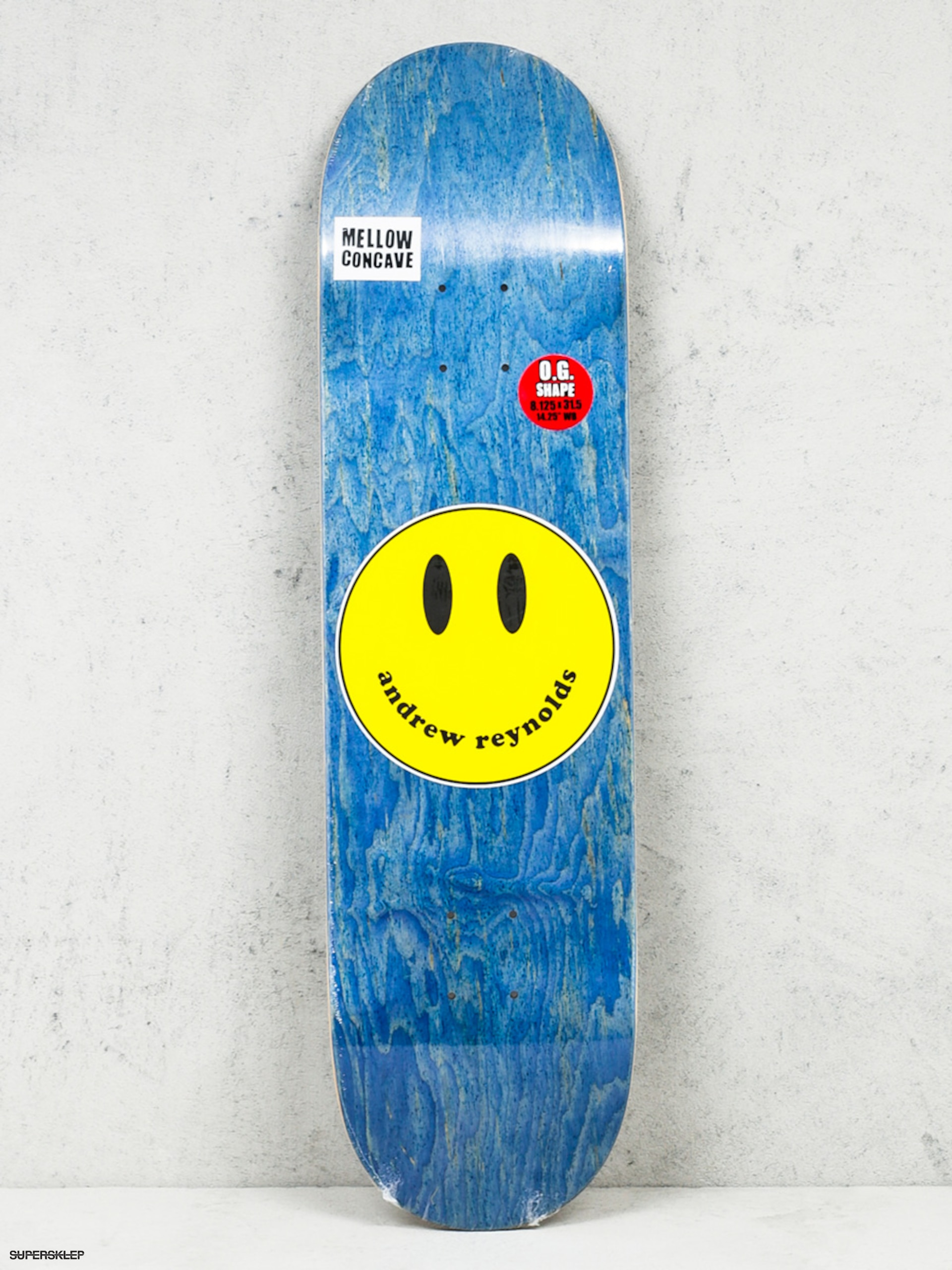 Deck Baker Andrew Reynolds Smiley