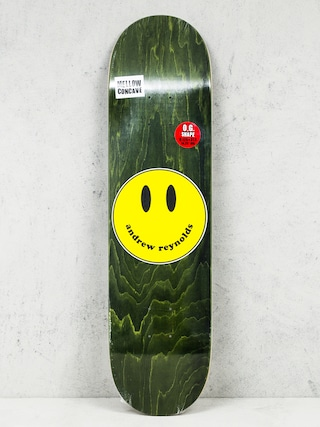 Deck Baker Andrew Reynolds Smiley (green)