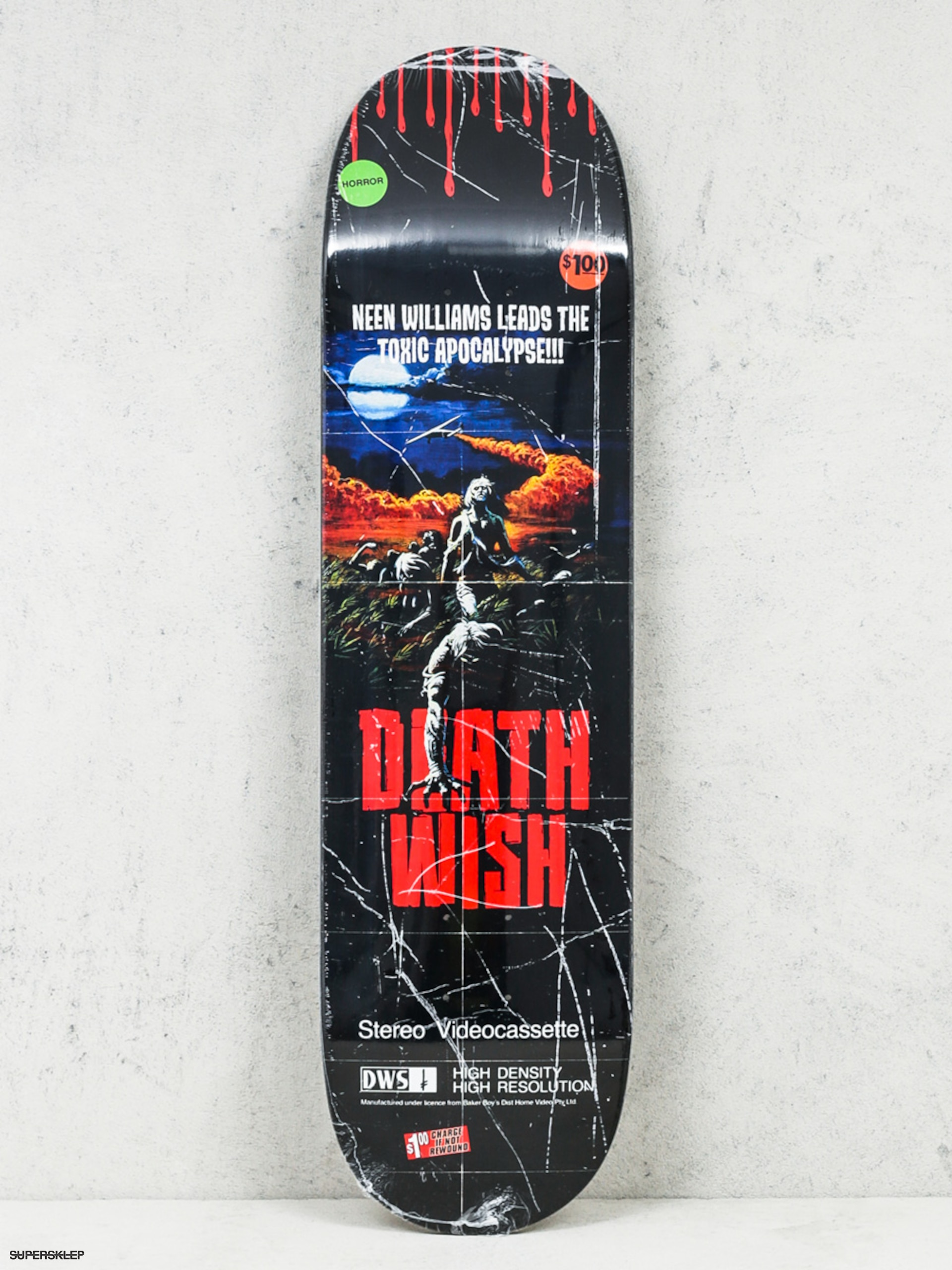 Deck Deathwish Neen Williams Vhs Wasteland (black)