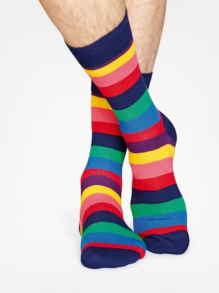 Skarpetki Happy Socks Stripe (navy/multi)