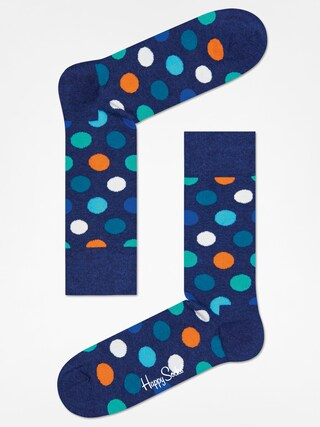 Skarpetki Happy Socks Big Dot (wasehd navy/navy)