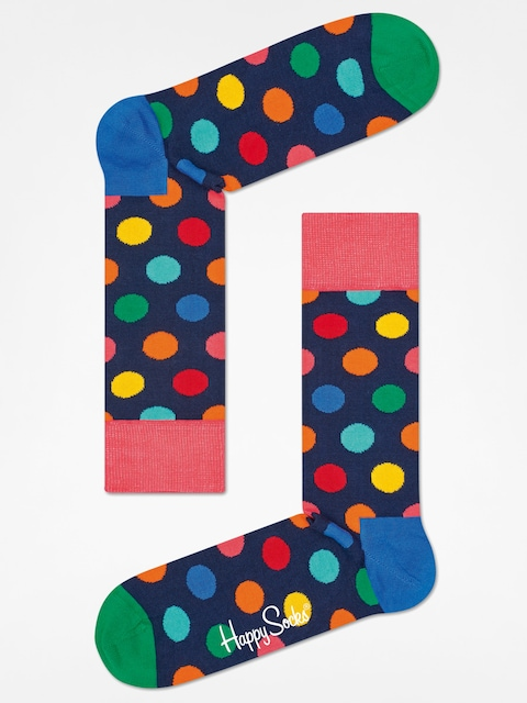 Skarpetki Happy Socks Big Dot (navy/multi)