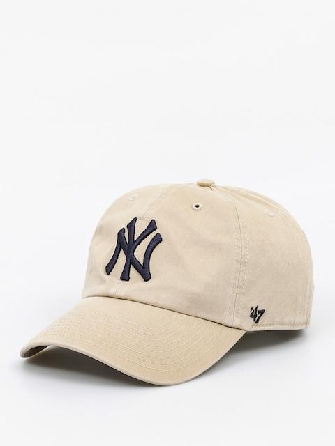 Czapka z daszkiem 47 Brand New York Yankees ZD (washed khaki)