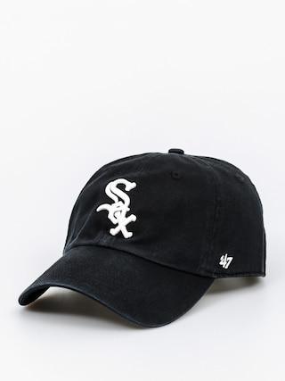 Czapka z daszkiem 47 Brand Chicago White Sox ZD (washed black)