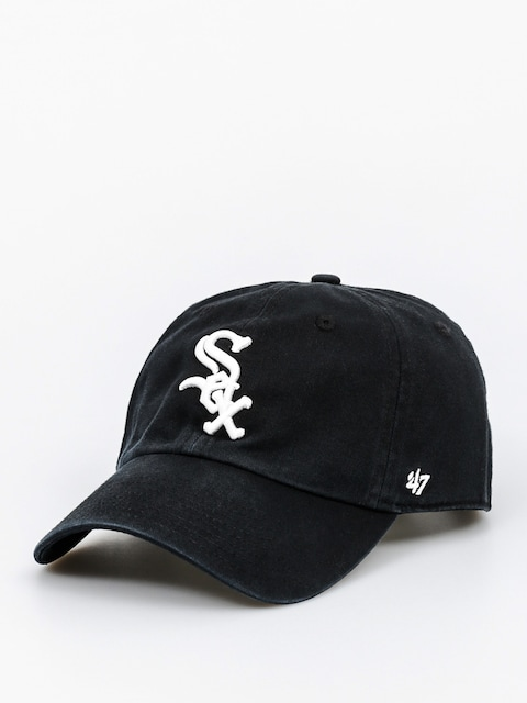 Czapka z daszkiem 47 Brand Chicago White Sox ZD (washed black)