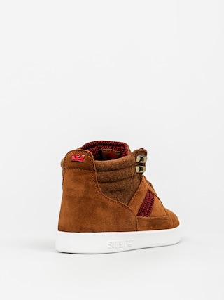 Buty Supra Bandit (brown/red herringbone white)